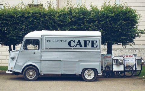 Kaffee-Mobil