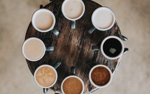 Kaffee-Verkostung