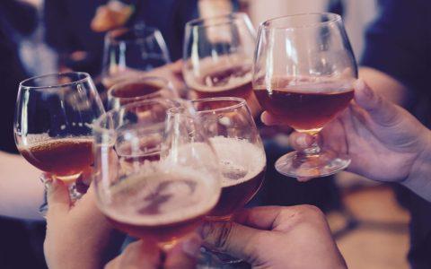 Bier-Verkostung